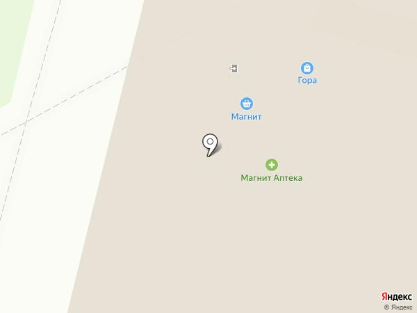 Эсерина на карте Архангельска
