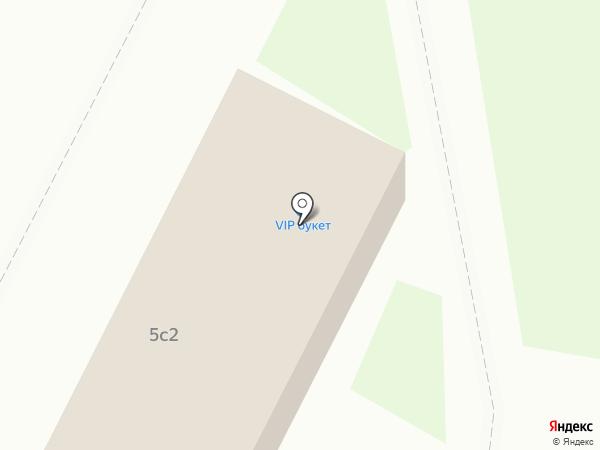 VIP букет на карте Архангельска