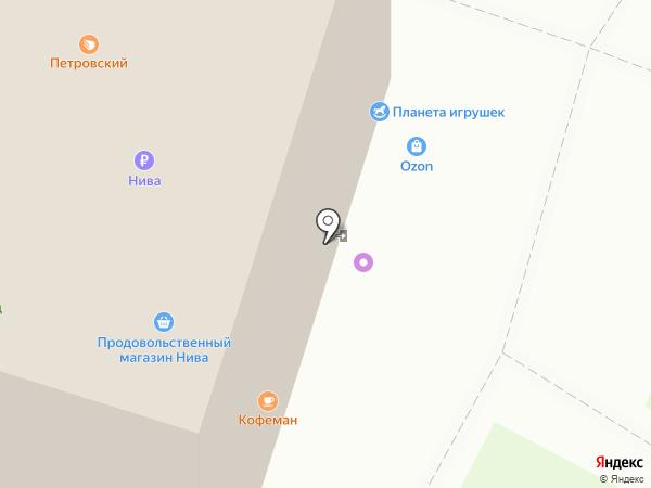 Частный Займ на карте Архангельска