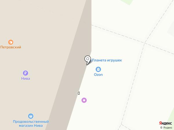 WoMan на карте Архангельска