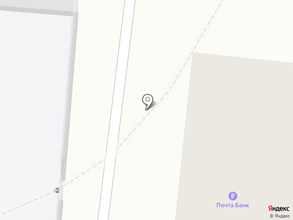 Почтовое отделение связи №39 на карте Архангельска