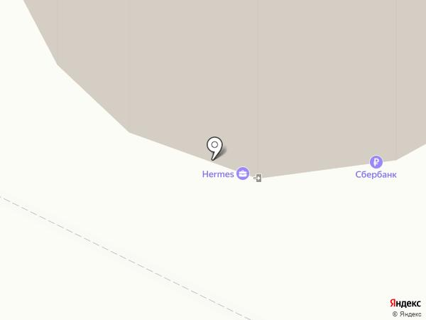 Галерея времени на карте Архангельска