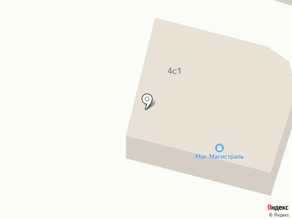 Магистраль на карте Катунино