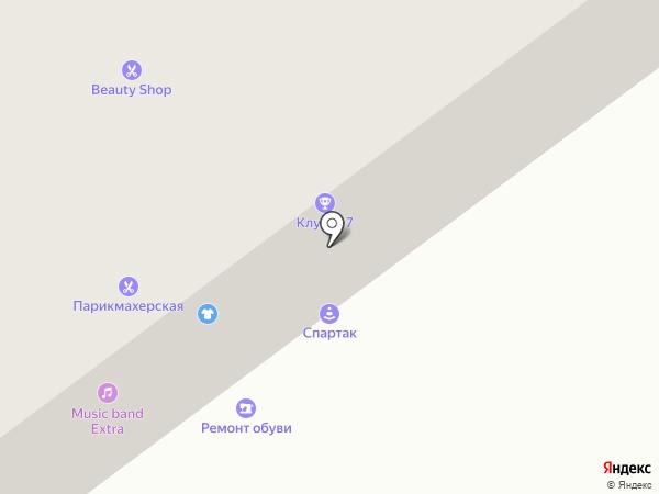 Ателье Михайловой на карте Архангельска