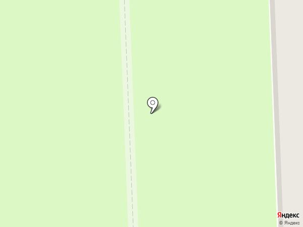 Гарант на карте Новодвинска