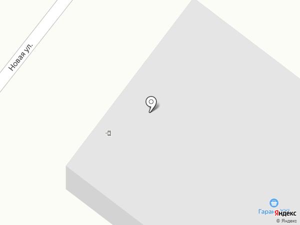 Агат на карте Новодвинска