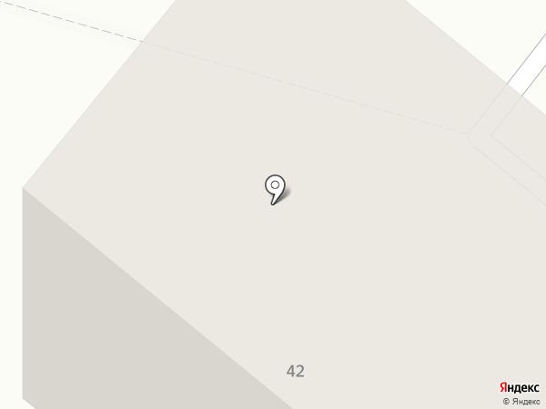 Почтовое отделение №2 на карте Новодвинска