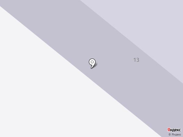 Специальная коррекционная общеобразовательная школа №5 на карте Новодвинска
