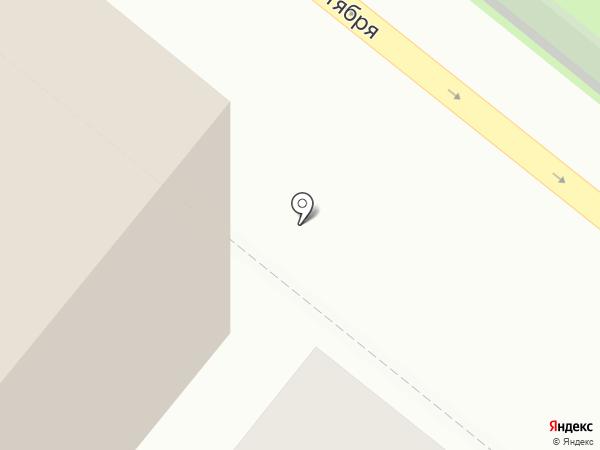 Магнит Косметик на карте Новодвинска