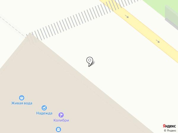 Лидия на карте Новодвинска