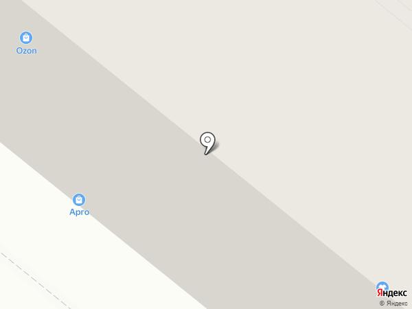 Аллея на карте Новодвинска