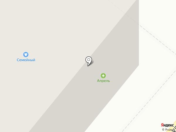 Центр на карте Новодвинска