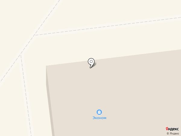 СуперСам на карте Новодвинска
