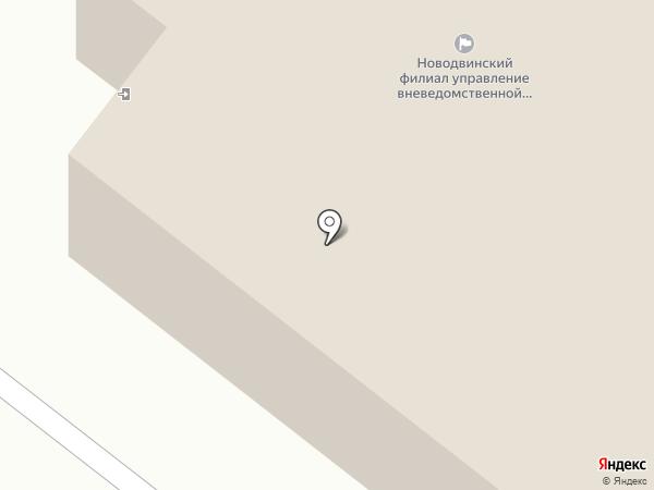 Охрана на карте Новодвинска