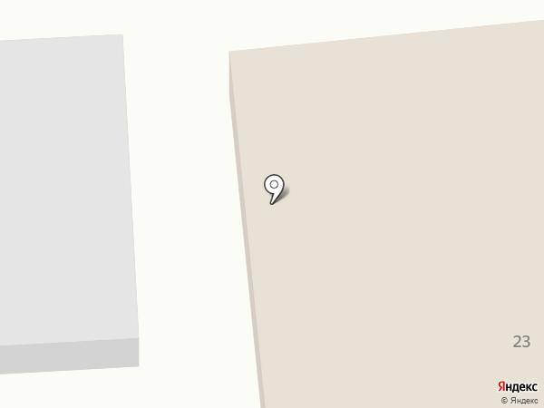 Гянджа на карте Новодвинска