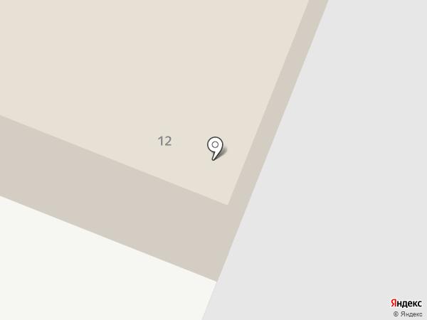 Костромская бумага на карте Костромы