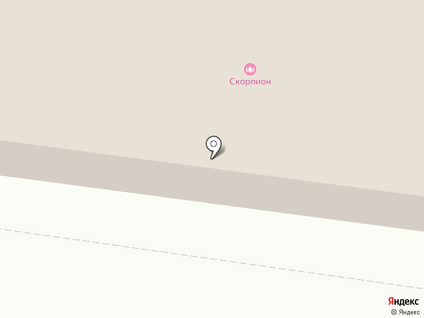 Маском на карте Костромы