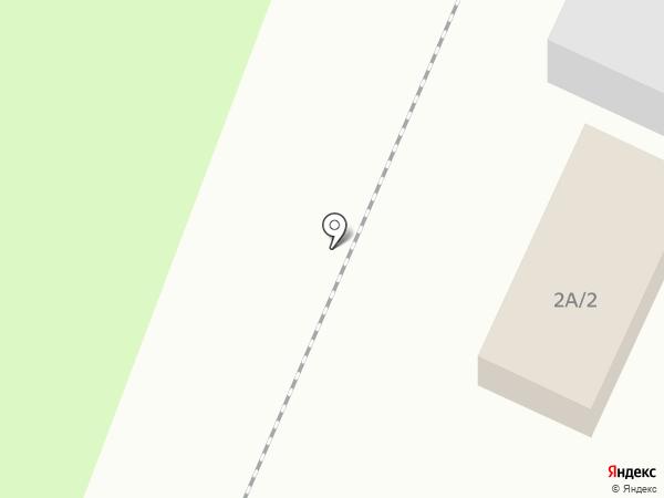 На Ярославской на карте Костромы