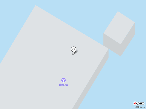 Вёсла на карте Костромы
