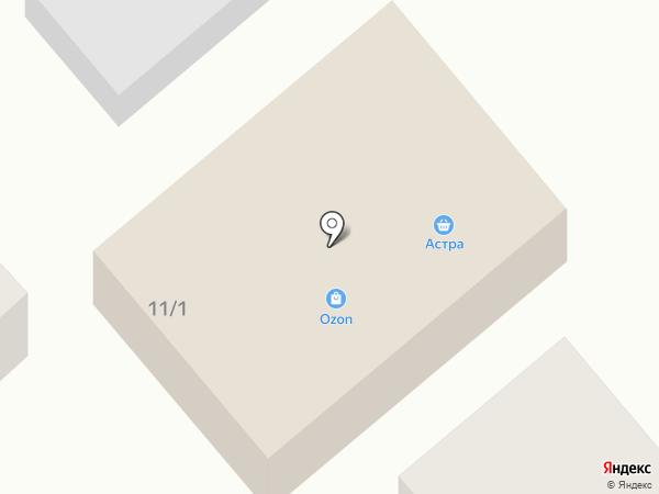 Астра на карте Кировой