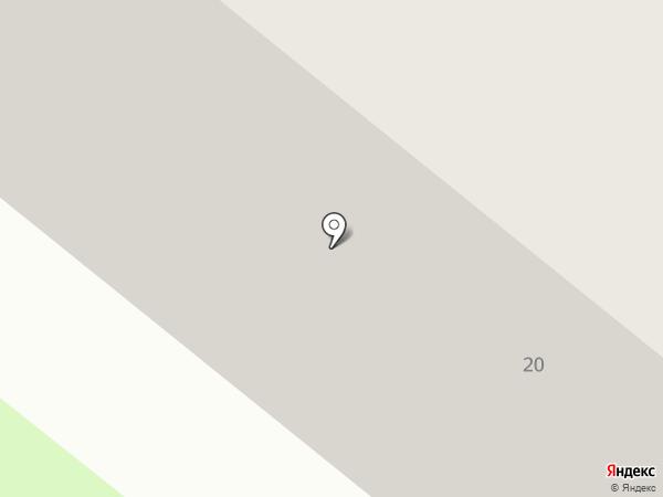 Баржа на карте Костромы