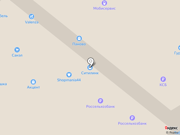 Темп на карте Костромы