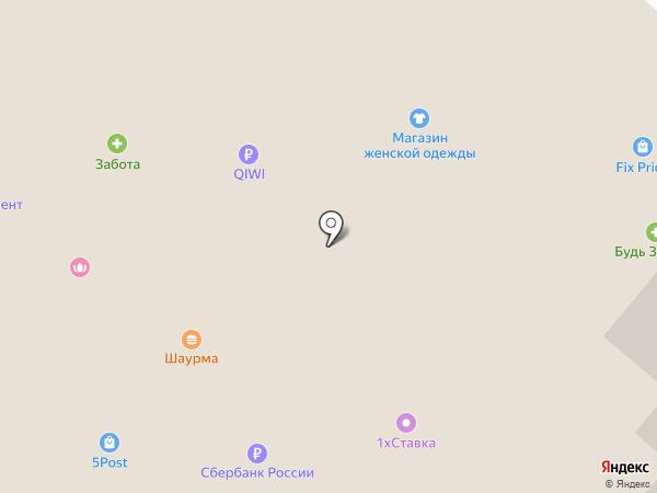 Атлетик Холл на карте Костромы