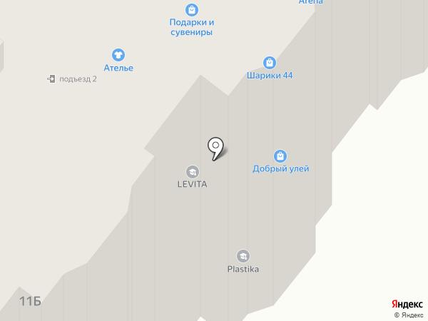 Plastika на карте Костромы