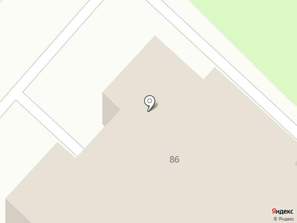 Автомарка на карте Костромы