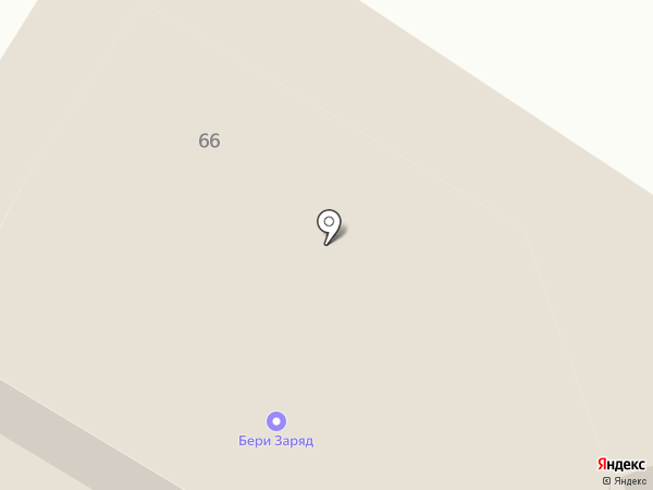 Баркас на карте Костромы