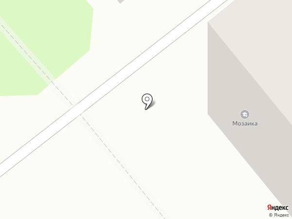 Ипатьевская слобода на карте Костромы