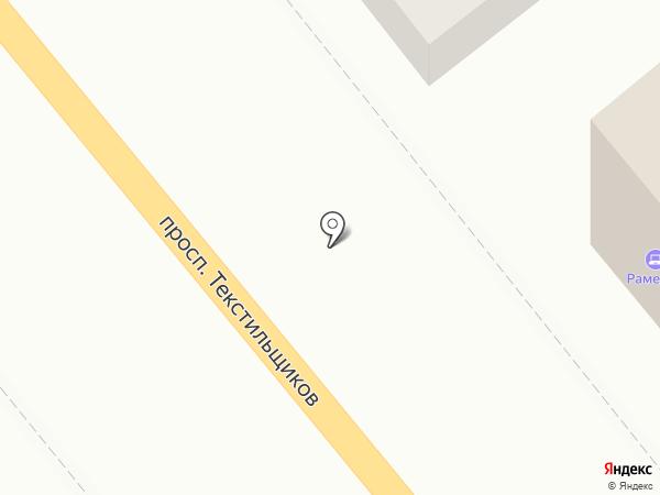 Рамедиа на карте Костромы