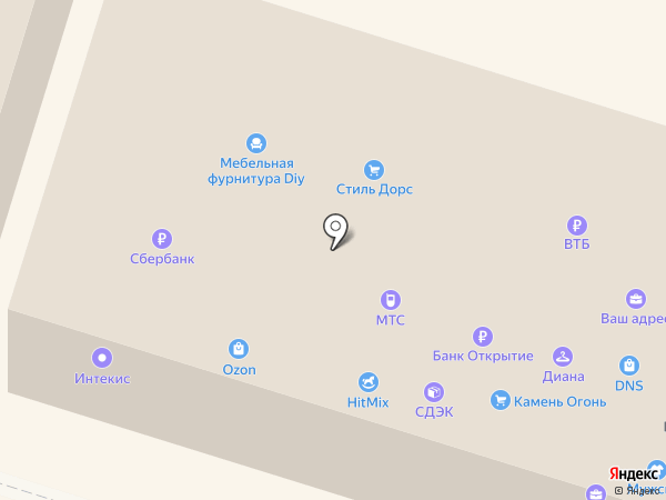 DIY на карте Костромы