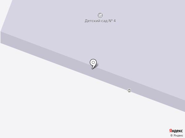 Детский сад №4 на карте Иваново