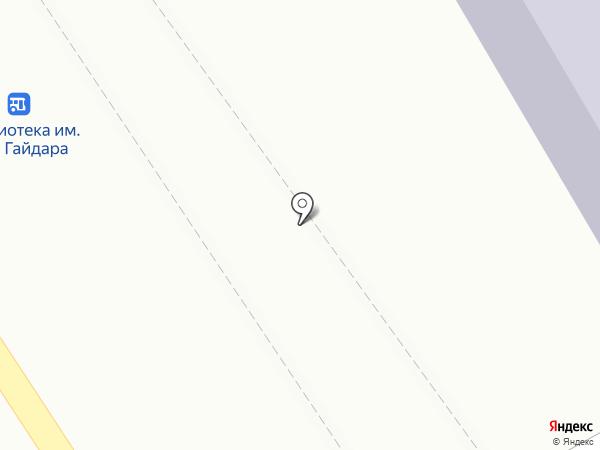 Китенок на карте Костромы
