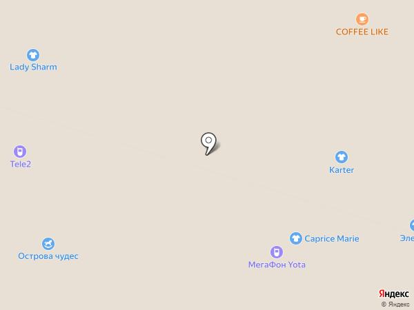 Элегант на карте Костромы