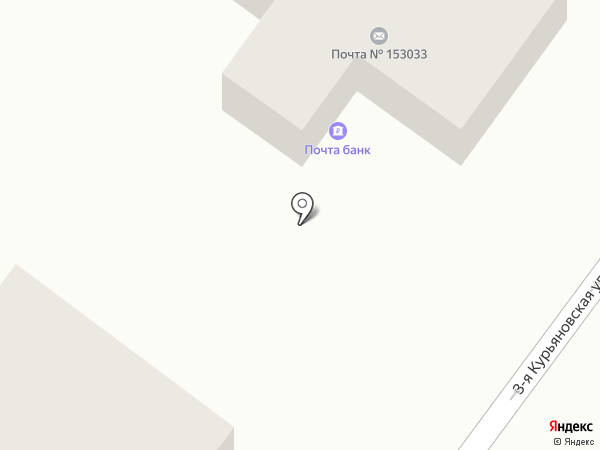 Почтовое отделение №33 на карте Иваново