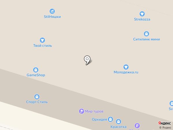 svg на карте Костромы
