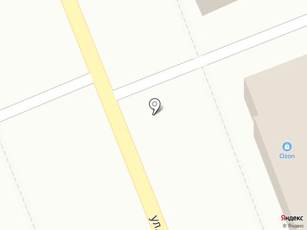 Павлин на карте Костромы