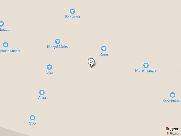 Mix на карте Костромы