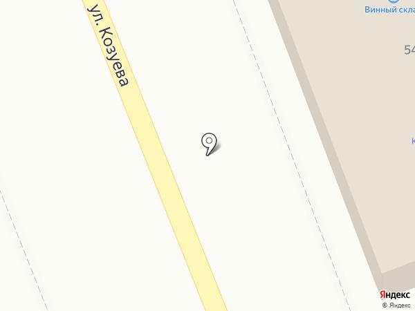 Полянка на карте Костромы
