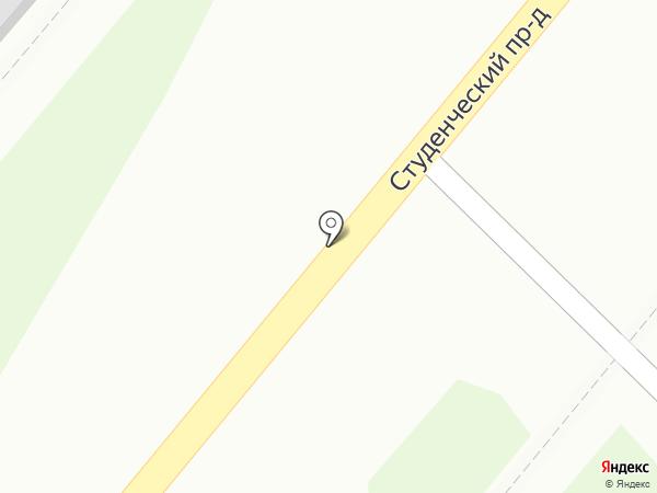 Мясная лавка на карте Костромы