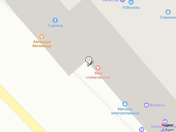 Android Service на карте Иваново