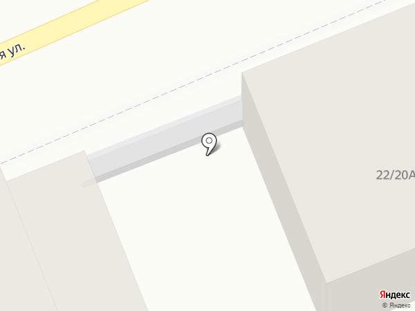 Тензор на карте Костромы