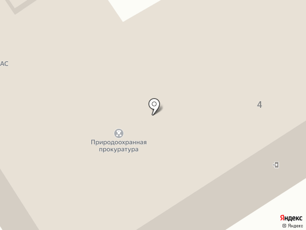 Костромская межрайонная природоохранная прокуратура на карте Костромы
