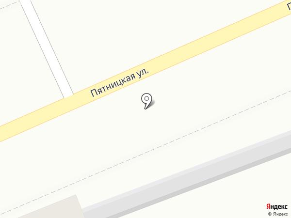 Клевер на карте Костромы