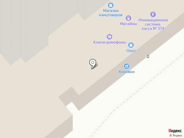 Коровки на карте Иваново