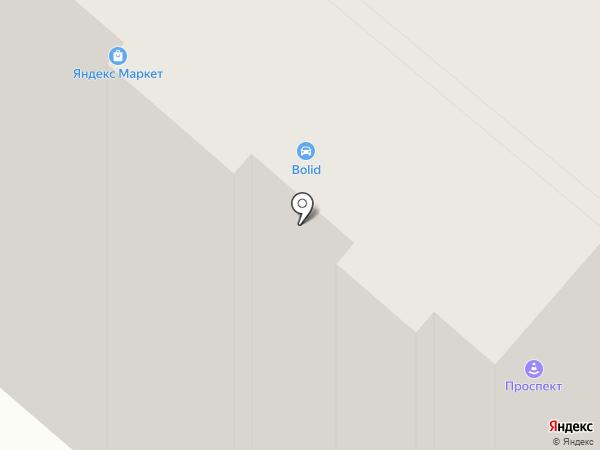 КФК №1 на карте Костромы