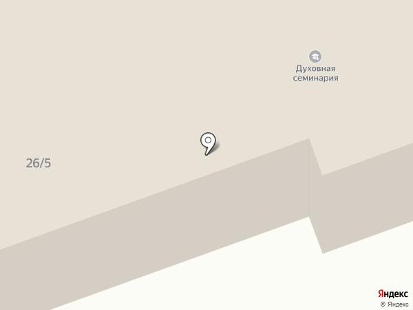 Костромская духовная семинария на карте Костромы
