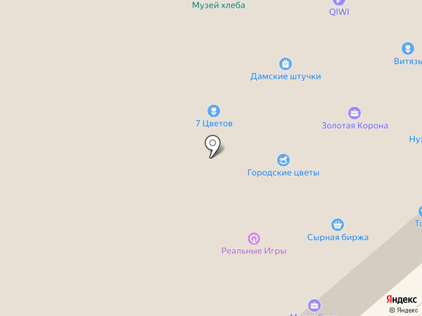 Костромская сырная биржа на карте Костромы